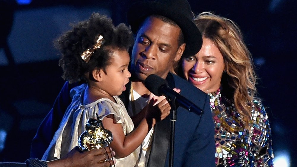 Blue Ivy & Jay-Z Congratulate LeBron James On Laker Win