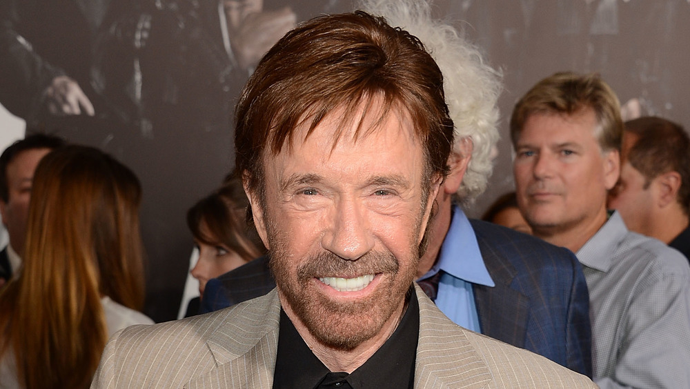 Chuck Norris weighs in on Capitol riot after photo goes viral