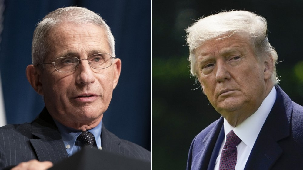 Dr. Fauci has a dire warning about Trump's COVID case