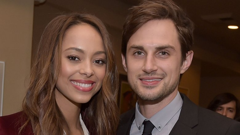 Amber Stevens and Andrew J. West