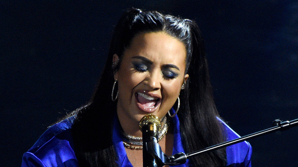 Demi Lovato Channels Her Anger Through Music After Storming of US Capitol