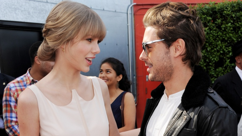 Are taylor swift and zac efron dating