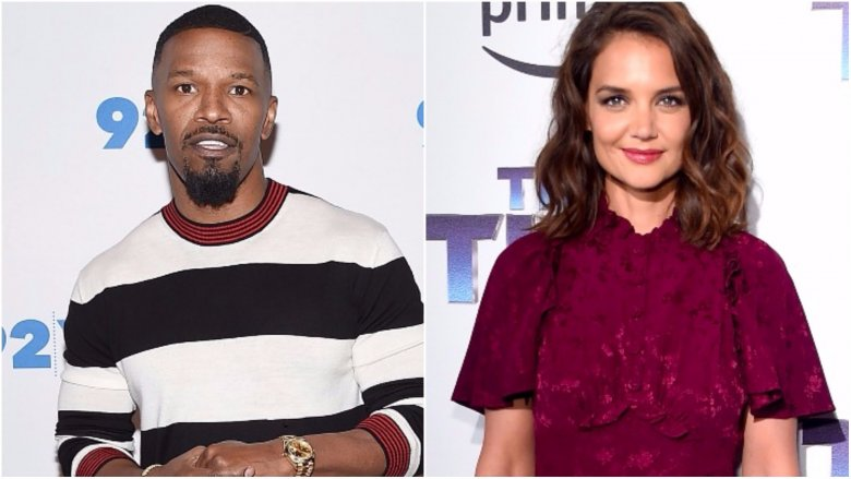 Katie Holmes, Jamie Foxx display major PDA after alleged 'Tom Cruise Clause'