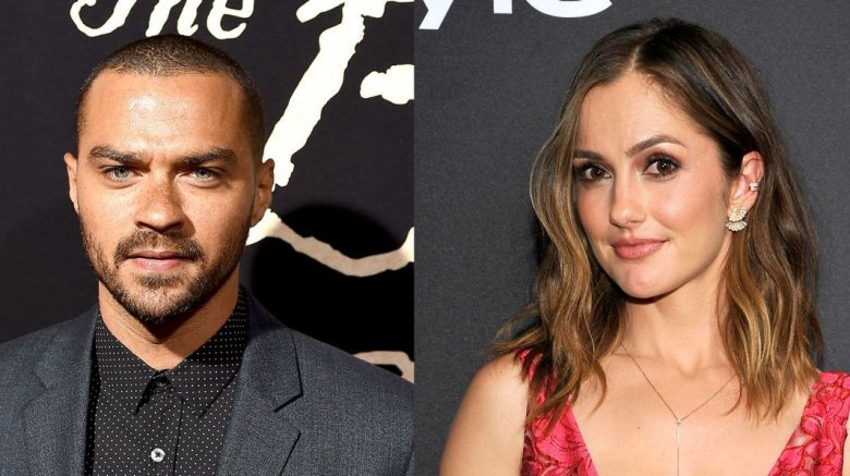 Jesse Williams dating Minka Kelly after split