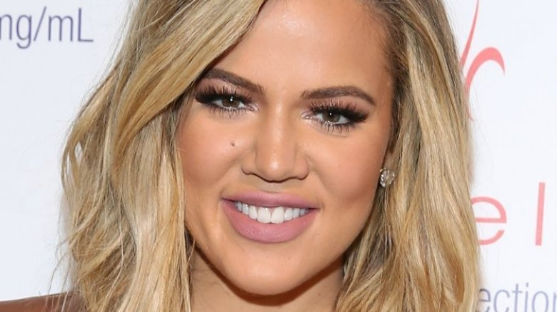 Khloe Kardashian first showed newborn daughter