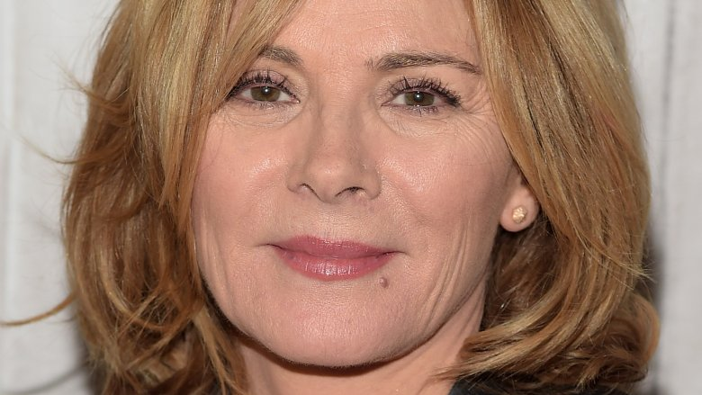 Actress Kim Cattrall pays tribute to brother in Edinburgh