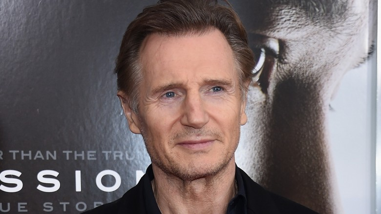 Workers stunned when Liam Neeson responds to free food offer