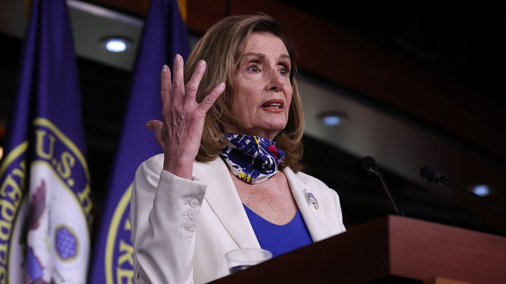 Pelosi Reacts To Trump's Diagnosis - Appears To Blame Him For Getting It