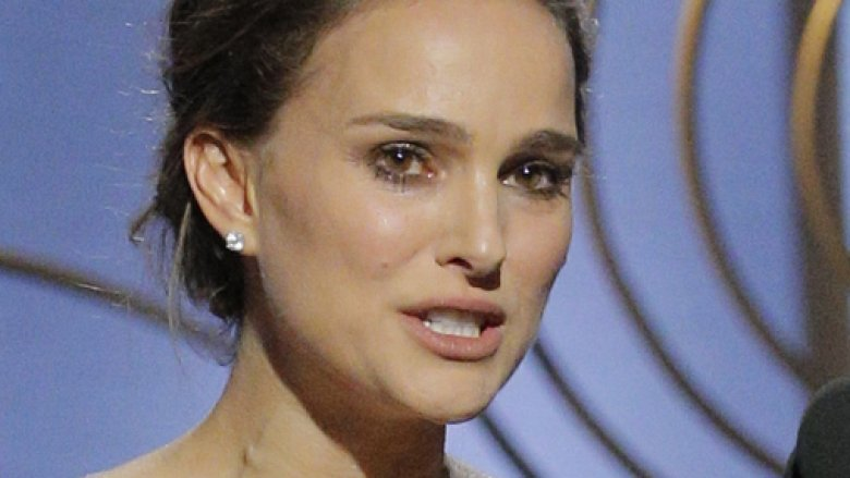 Natalie Portman calls out 'all male nominees' for Best Director