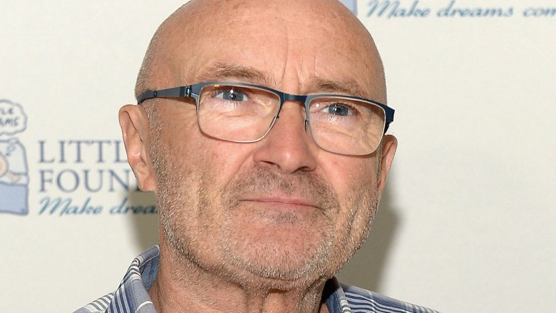 Phill Collins rushed to hospital after falling in room