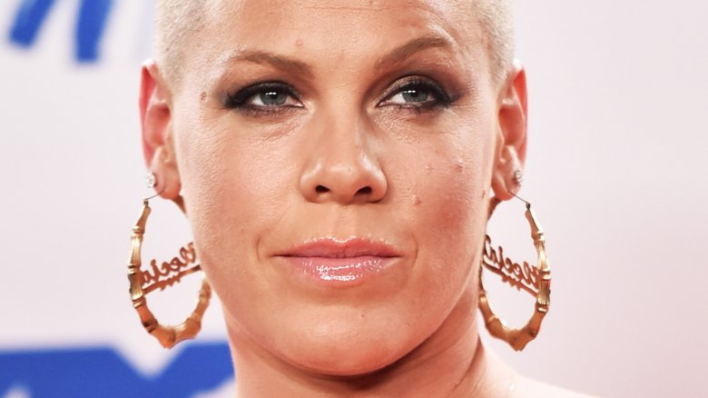 Pink Shuts Down Rumors That She's Feuding With Christina Aguilera