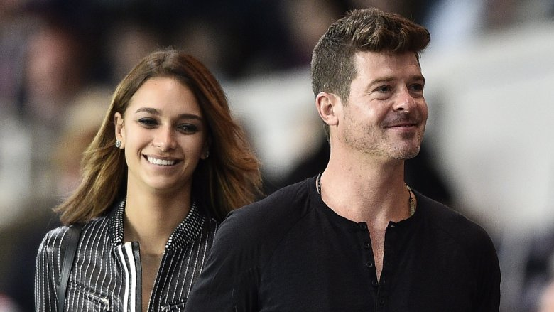 Robin Thicke Expecting Second Child; April Geary Pregnant