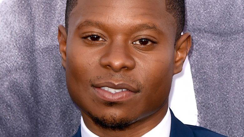 Jason Mitchell makes a scene