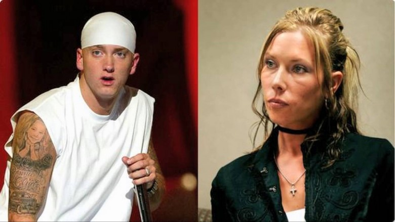 Eminem and former wife Kimberly Anne Scott
