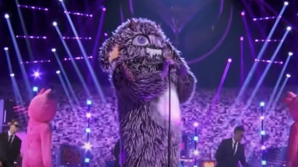 The gremlin's big reveal on The Masked Singer