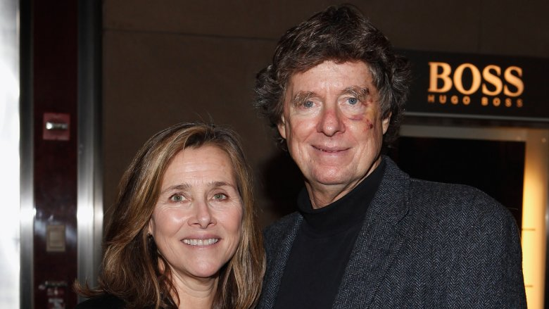 Meredith Vieira and Richard Cohen
