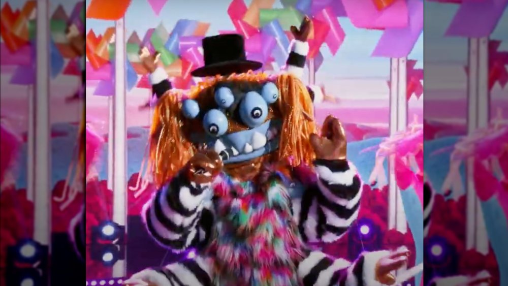 Who the squiggly monster on The Masked Singer may be