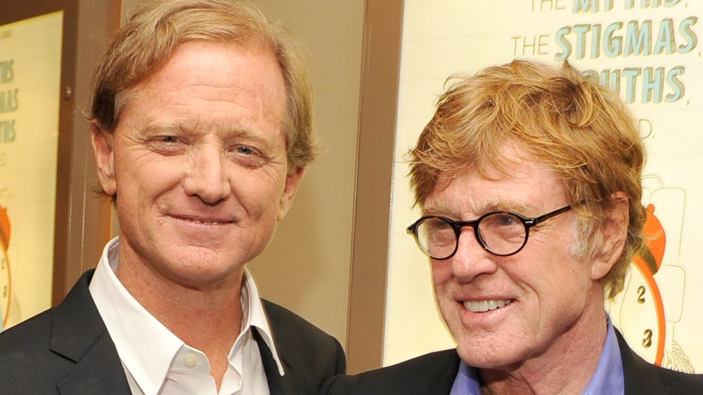 Robert Redford mourning son James following his death aged 58