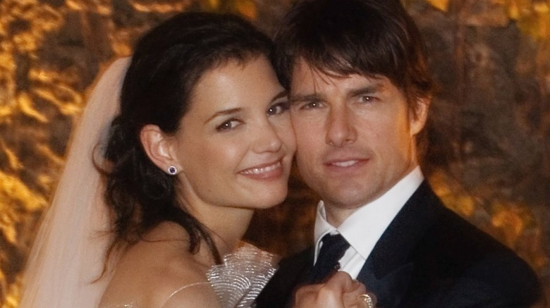 Tom Cruise and Katie Holmes' wedding photo