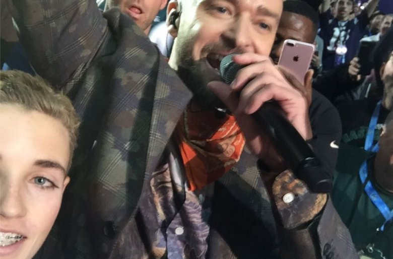 Selfie Kid and Justin Timberlake