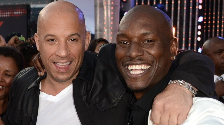 Vin Diesel and Tyrese Gibson