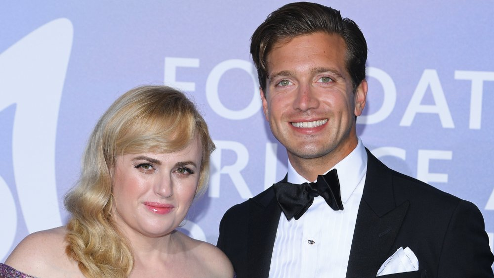 Rebel Wilson And New Boyfriend Jacob Busch Make Their Red Carpet Debut