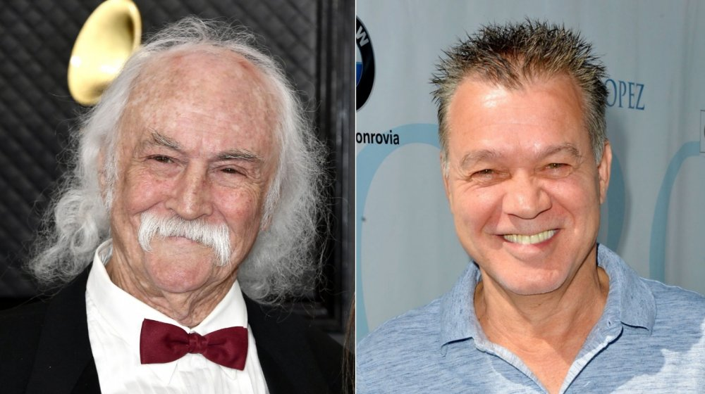 David Crosby blasted for 'rude' Eddie Van Halen remark