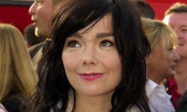 Icelandic actress and singer Bjork arrives at the