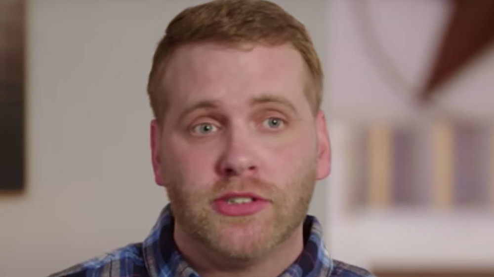 Tim from 90 Day Fiance during a confessional interview