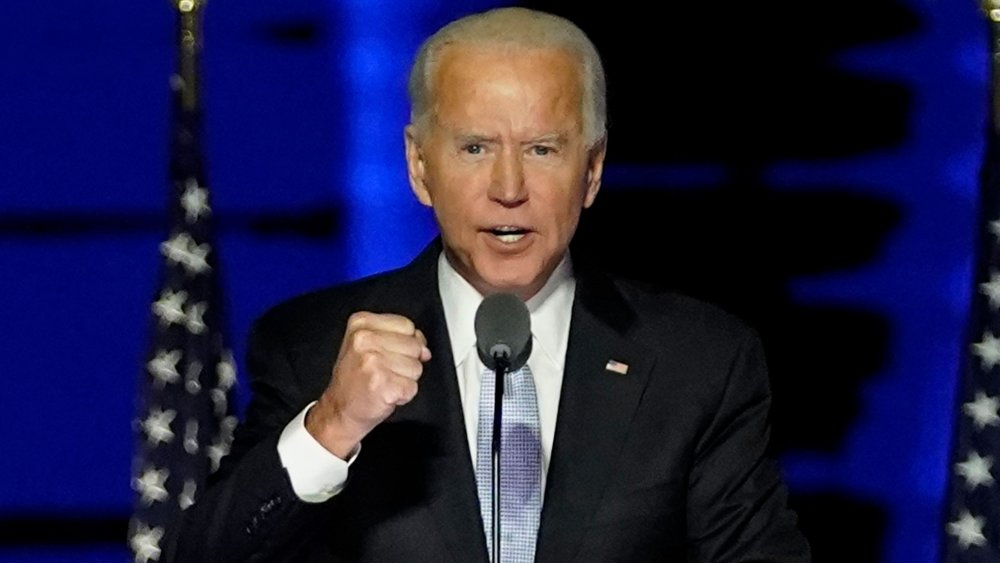 The subtle detail you missed during the fireworks after Biden's speech