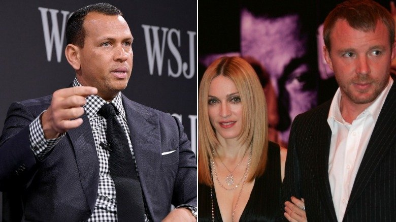 Alex Rodriguez, Madonna and Guy Ritchie