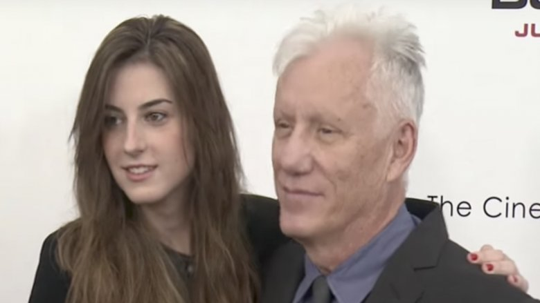 James Woods and Kristen Bauguess