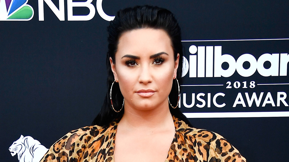 Demi Lovato at the 2018 Billboard Music Awards