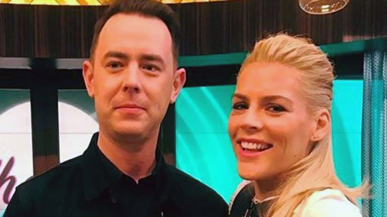 Busy Phillipps and Colin Hanks