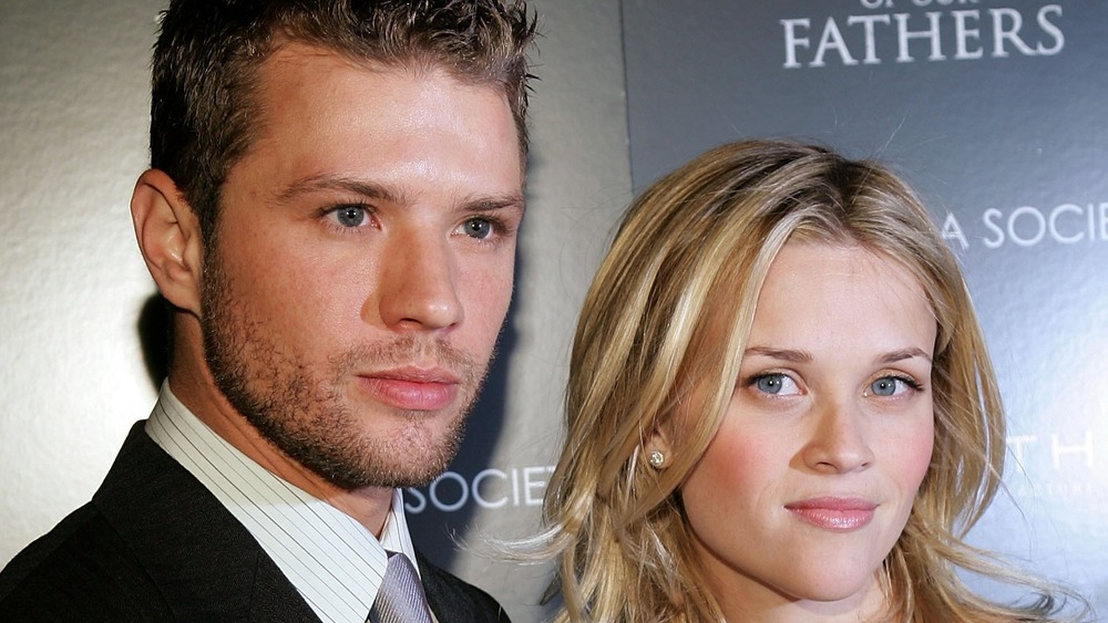 Ryan Phillippe and Reese Witherspoon posing together