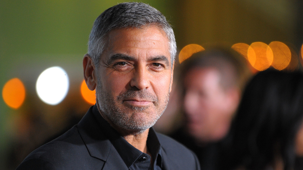 George Clooney at the Up In the Air premiere