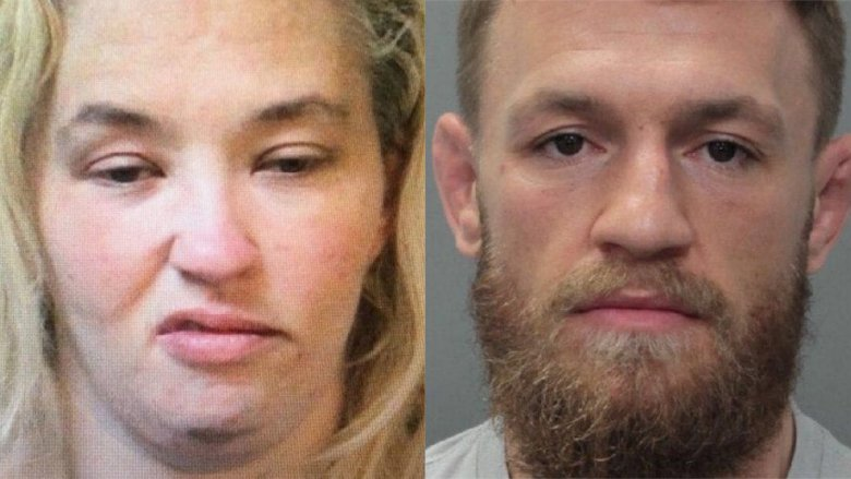 Mama June and Conor McGregor