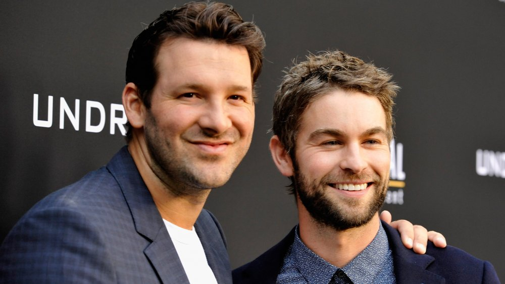Tony Romo and Chace Crawford