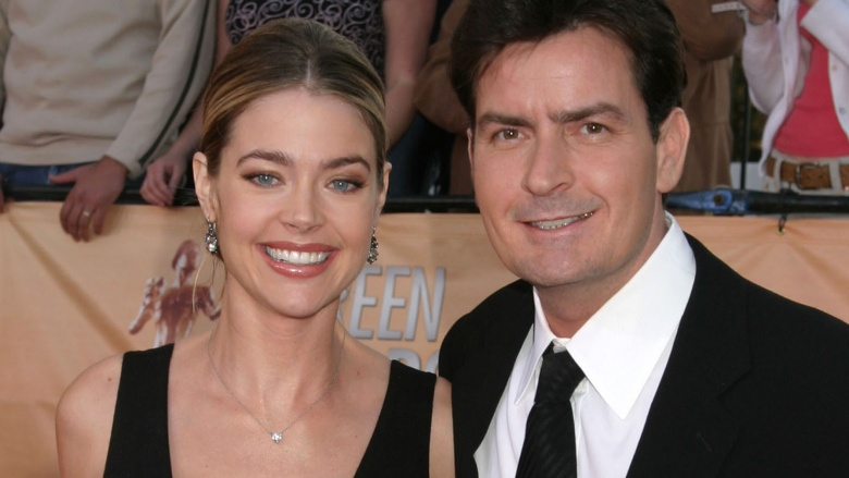 Denise Richards filed for divorce from Sheen in 2005 when she was still  pregnant with their second daughter, claiming that Sheen gambled and abused  ...