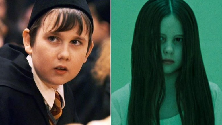 Matthew Lewis as Neville Longbottom and Daveigh Chase as Samara