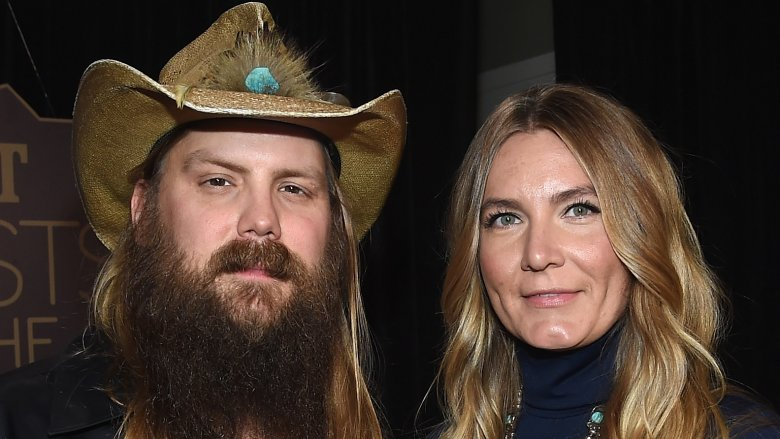 Chris Stapleton and Morgane Stapleton