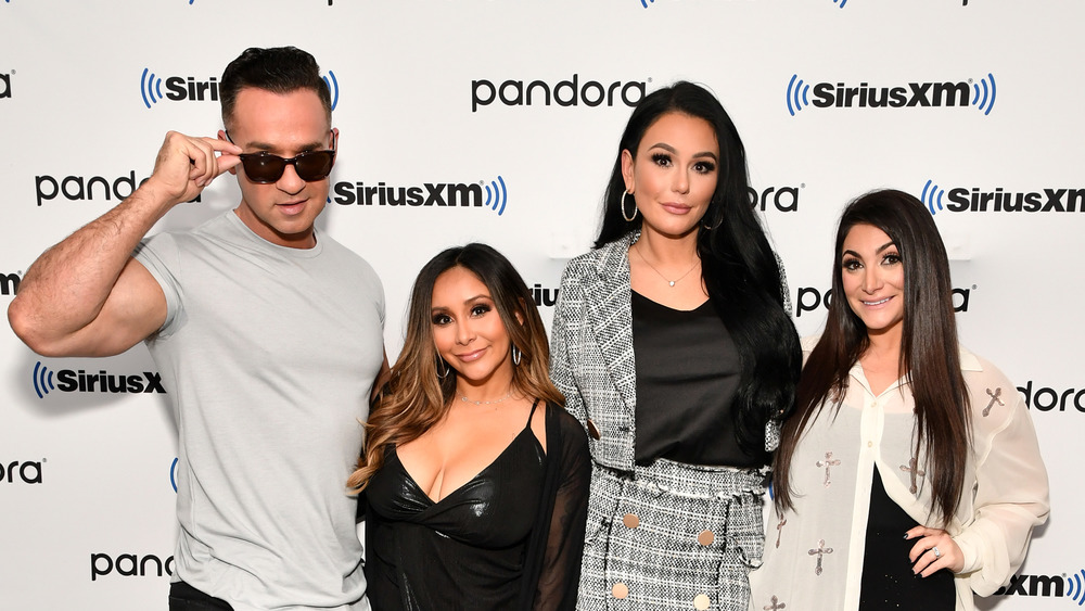 The cast of 'Jersey Shore' at SiriusXM Studios