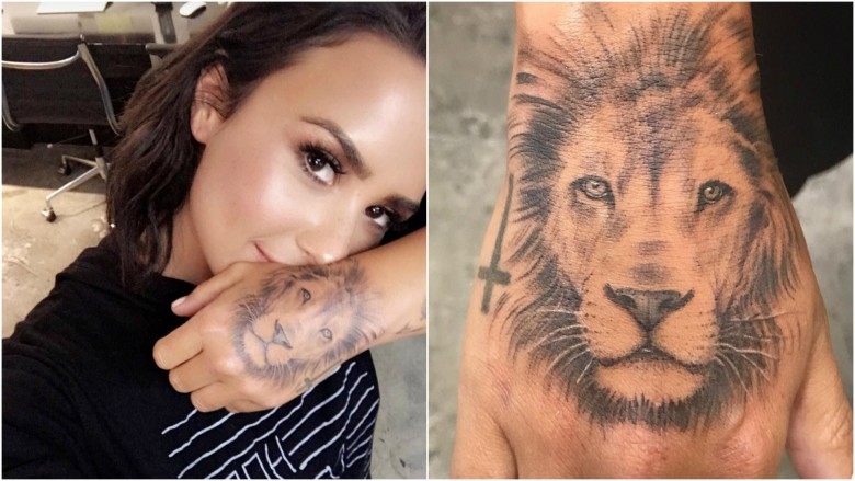 Demi Lovato Claims She Did Not Copy Her New Tattoo