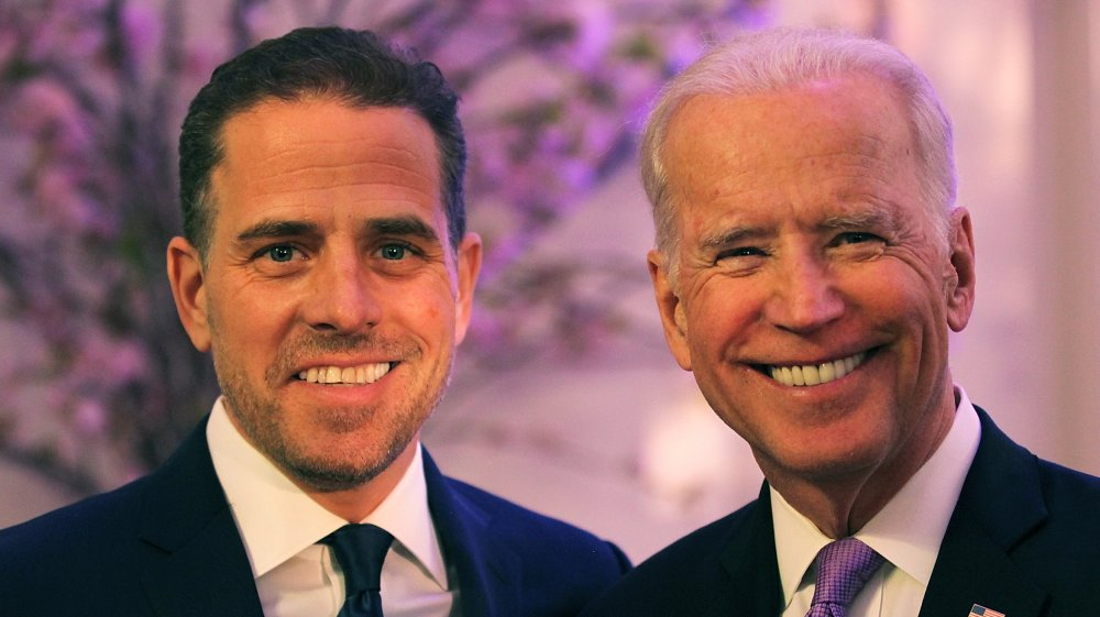 Hunter Biden and Joe Biden