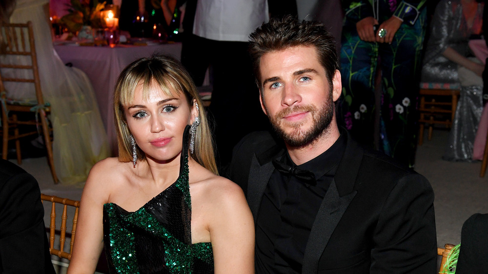 Miley Cyrus and Liam Hemsworth at the Met Gala