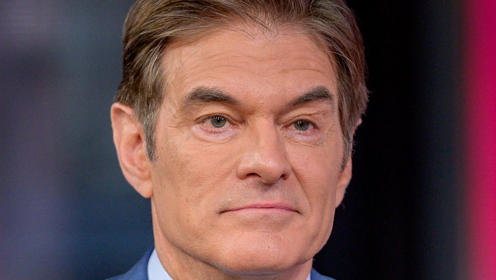 Dr. Oz frowning