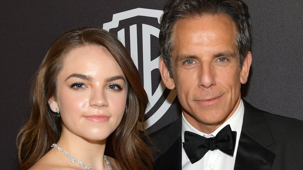 Ella Stiller and Ben Stiller attend the 2019 InStyle and Warner Bros. 76th Annual Golden Globe Awards Post-Party at The Beverly Hilton Hotel