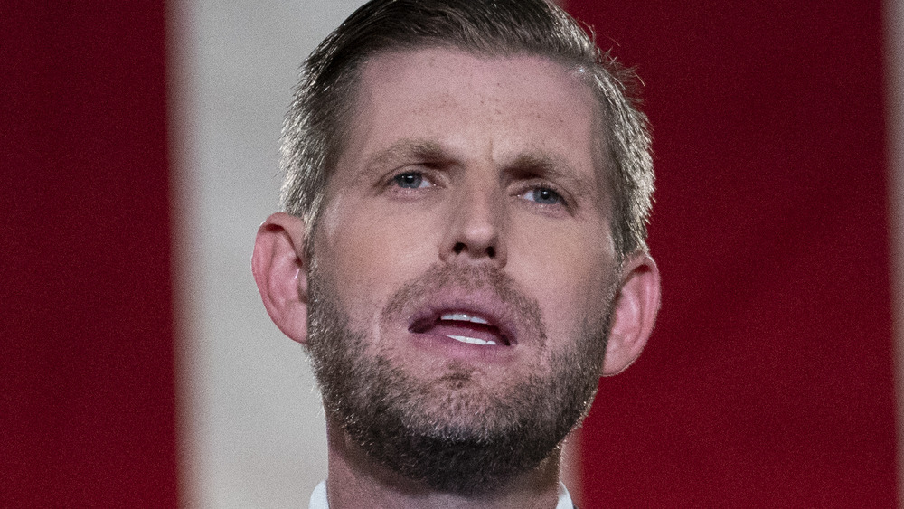 Eric Trump speaks at the RNC