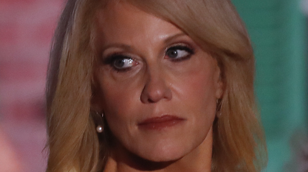 Kellyanne Conway at an event