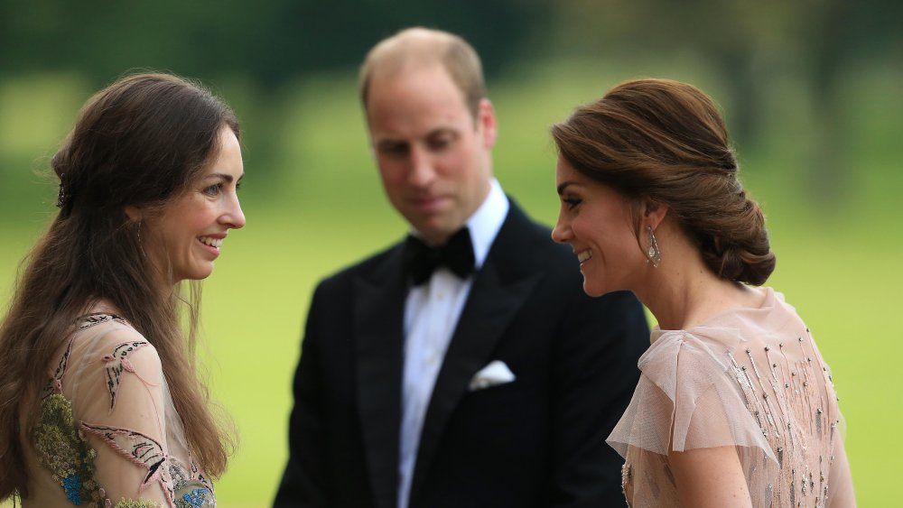 The Marchioness of Cholmondeley and Kate Middleton